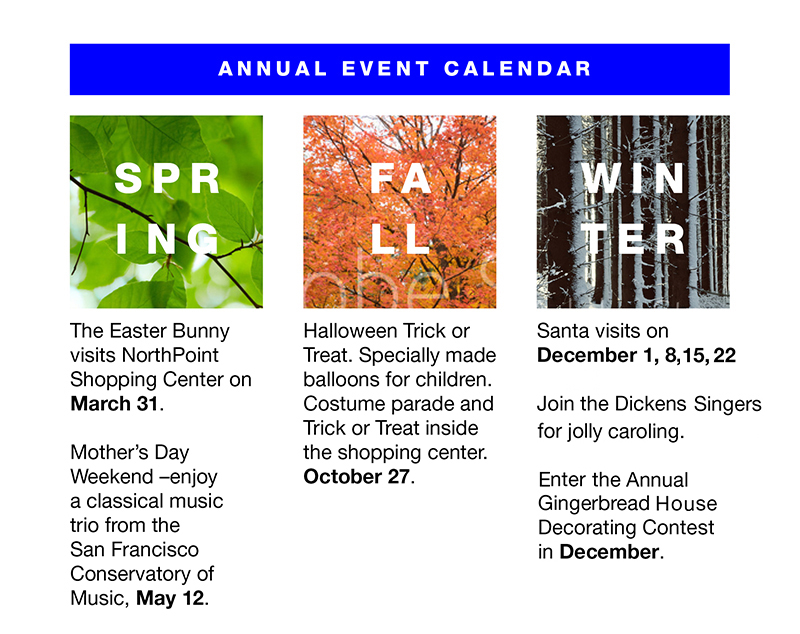 2018 Northpoint Shopping Center Calendar